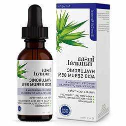 InstaNatural Hyaluronic Acid 85% Face Serum Natural Anti Agi