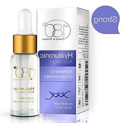 Hyaluronic Acid & Vitamin C Facial Serum by 180 Cosmetics -
