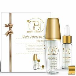 Hyaluronic Acid Facial Serum and Cream Kit - 180 Cosmetics -