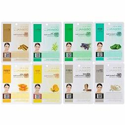 A+B Dermal Korea Collagen Essence Full Face Facial Mask Shee