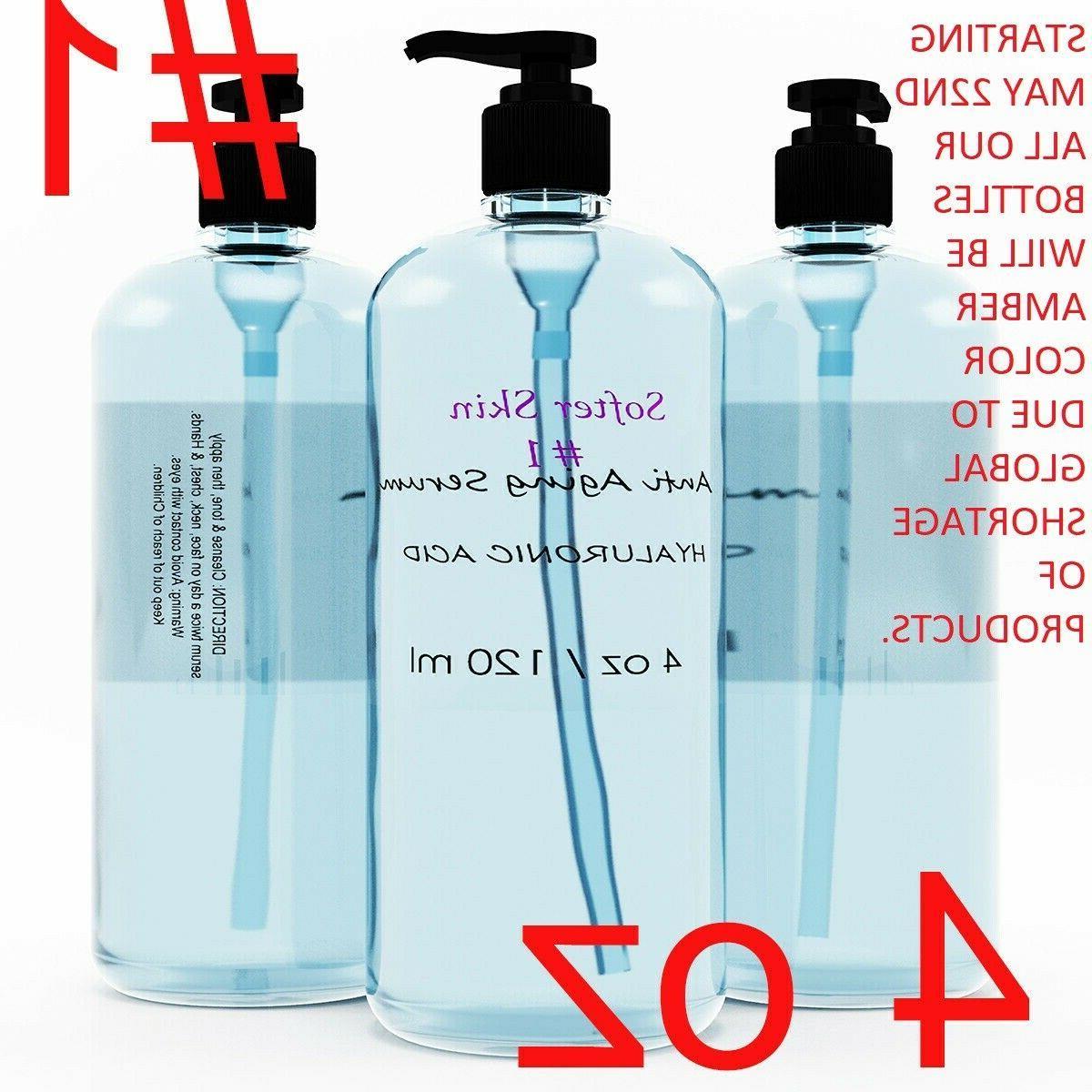 1 4 oz pure hyaluronic acid serum