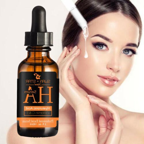 100% Hyaluronic Facial Serum Aging Wrinkle Star