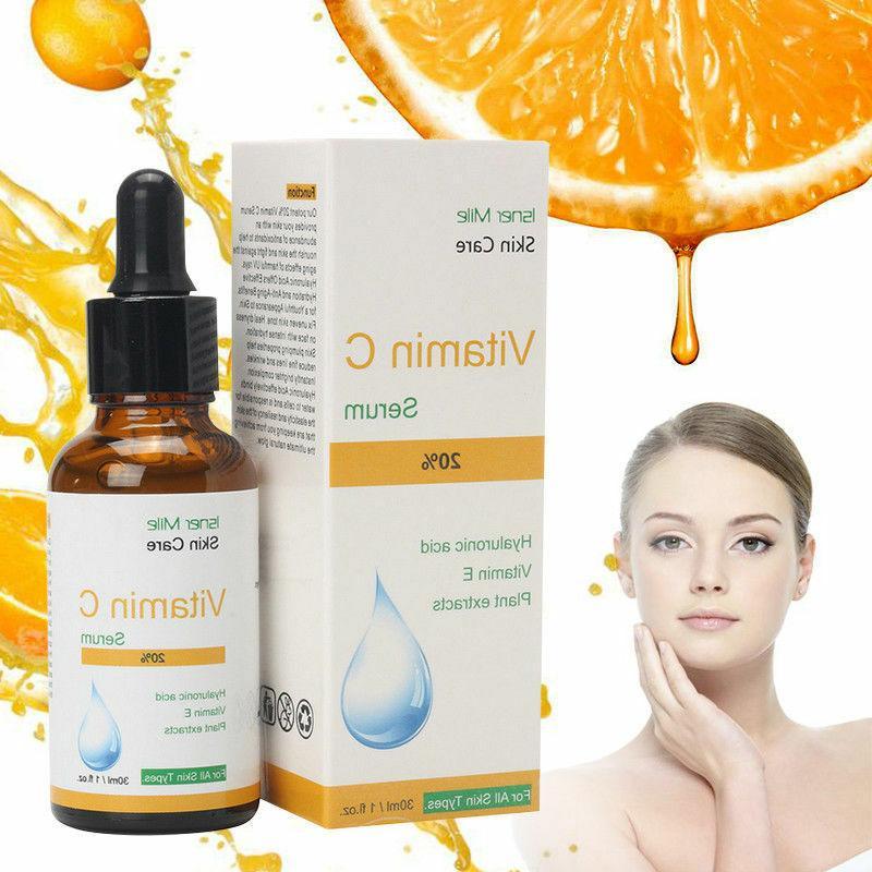 100 percent pure vitamin c hyaluronic acid