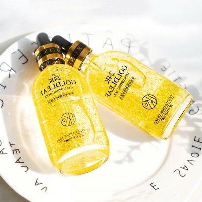 24K Gold Face Serum Anti Hyaluronic Acid For