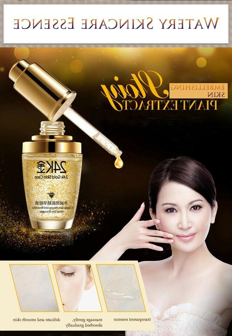 24k Gold Face Essence Serum Cream Women