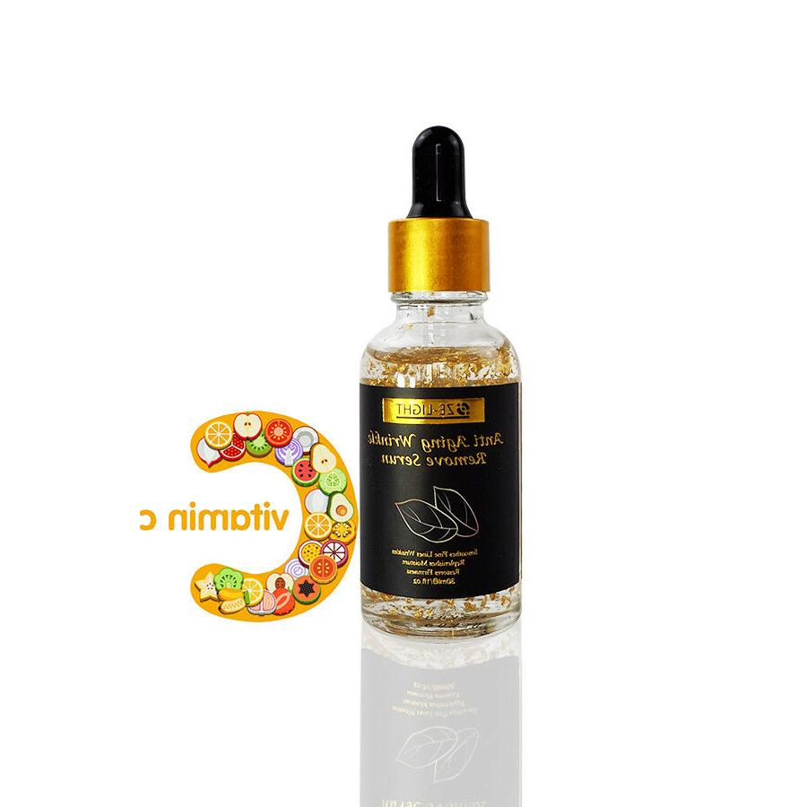 24K Gold Luxury Face Lift Serum Moisturizer Aging +More!