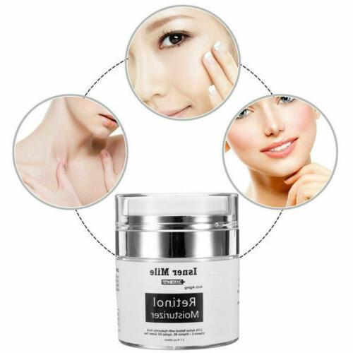 2Pcs RETINOL VITAMIN A Serum Anti Aging Wrinkles Acnes US