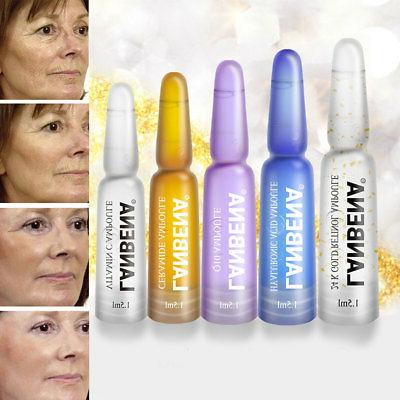 7Pcs/Set Women's Ampoule Hyaluronic Skin Care Flowery