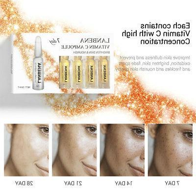 7Pcs/Set Hyaluronic Q10 Anti-Aging Skin Care Flowery