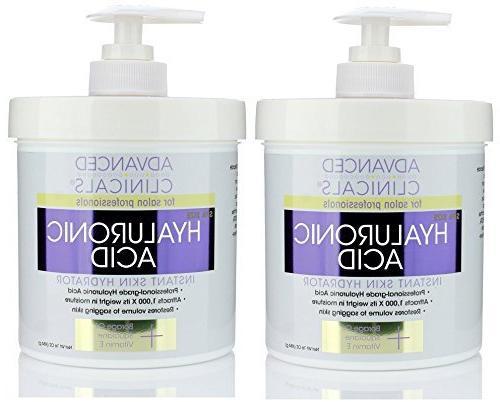 Advanced Clinicals Acid Cream body, hydration for spa