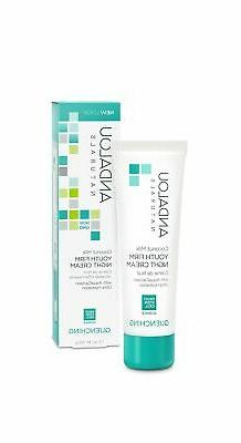 Andalou Naturals Coconut Milk Youth Firm Night Cream, 1.7 Ou