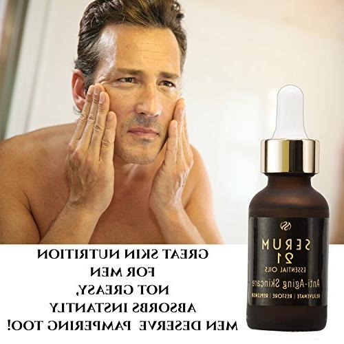 Anti Face Serum Moisturizer Skin Care.Wrinkle Repair with Vitamin C, E, More & Plump Collagen to Fine Lines