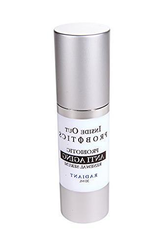 Anti-Aging Face Serum with Probiotics– Natural Skin Care F