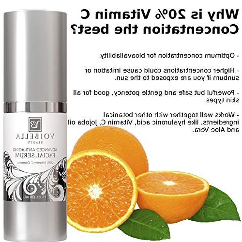 BEST Natural Serum - Anti-Wrinkle For & Ultra Hydrating, Tightening, Pore Min Anti Blemish