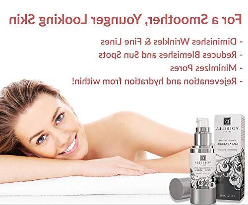 BEST Serum Vitamin C - Anti-Wrinkle For Women Men. Ultra Hydrating, Tightening, Min Treatment