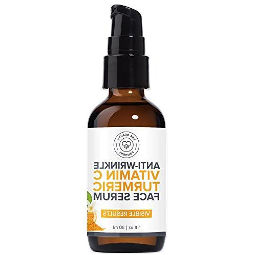 Beauty Serum, Natural Reduce Wrinkles, Visible Results for Skin