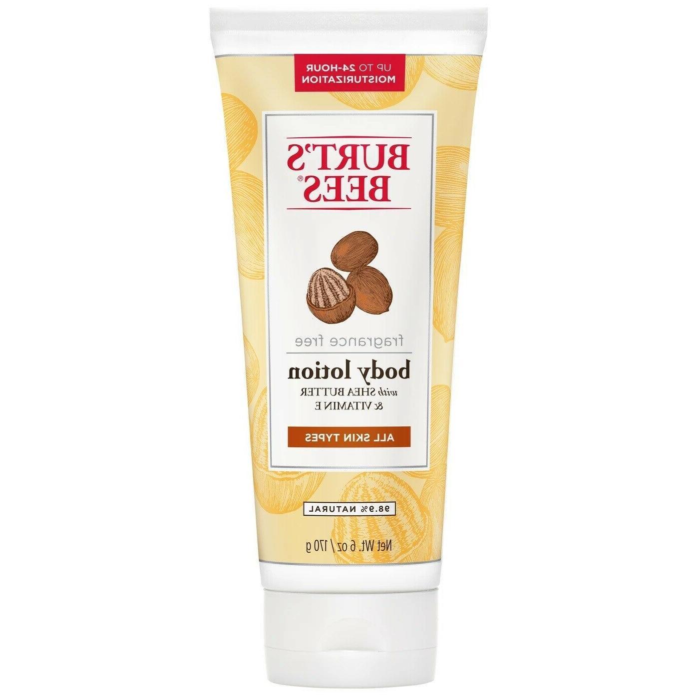 Burt's Bees Shea Butter and Vitamin E Body Lotion - Fragranc