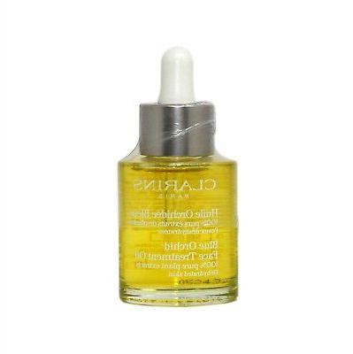 CLARINS BLUE ORCHID FACE TREATMENT OIL FOR DEHYDRATED SKIN 3