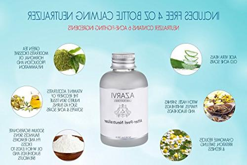 Combo 7 Peel After Made with 7 ingredients: TCA, Mandelic, Resorcinol. Strong Wrinkles, Acne, Smoker's Skin