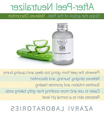 Combo Peel Including After Peel Neutralizer. with TCA, Glycolic, Mandelic, Strong Wrinkles, Acne, Skin