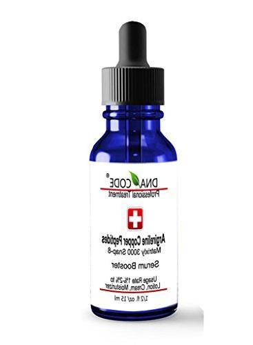 DNA Code®-No Needle Alternative-Argireline Copper Peptide W