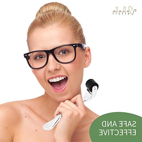 Derma Roller Acne Lines - Skin - Marks - - Rosacea 540 Fine Titanium for Face
