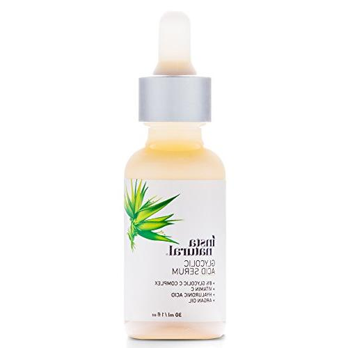 Glycolic Serum Acid & Anti-Aging - Acne & Remover, Wrinkles - InstaNatural