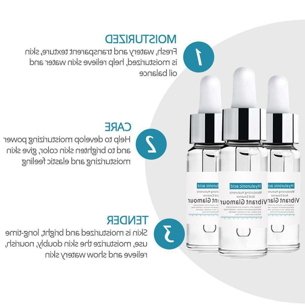Hyaluronic Serum Moisturizing Essence Face Acne Treatment Skin Care