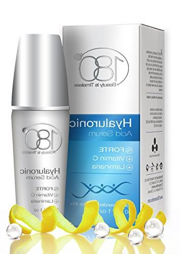 Hyaluronic Facial - 180 Face Skin for - Pure Hyaluronic Acid For Hydrating - Aging - Wrinkles and Fine Lines