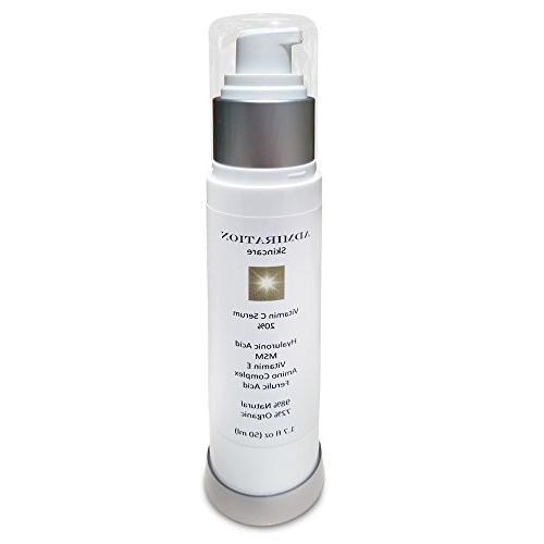 Hyaluronic Acid Vitamin C Serum -1.7oz- Professional Grade 2