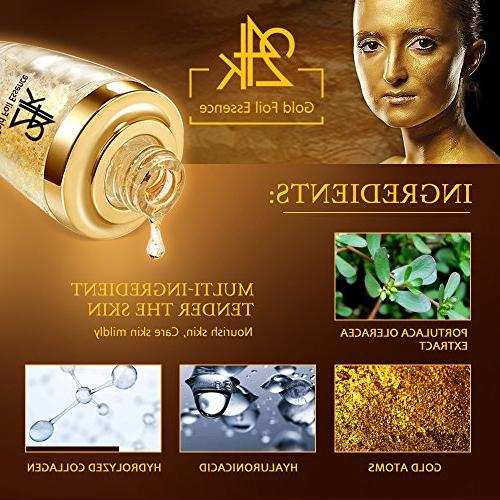 Moisturizer for Face Gold Anti Aging Wrinkle Firming Face Cream Treatment Skin