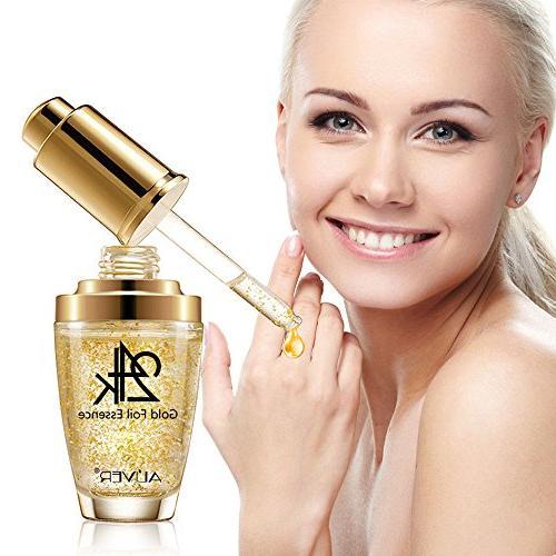 Moisturizer and Area, 24K Gold Essence Aging Wrinkle Moisturizing Cream Skin Care