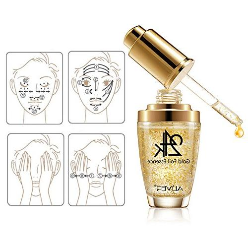 Moisturizer and Area, Gold Essence Anti Aging Wrinkle Firming Cream Women Skin