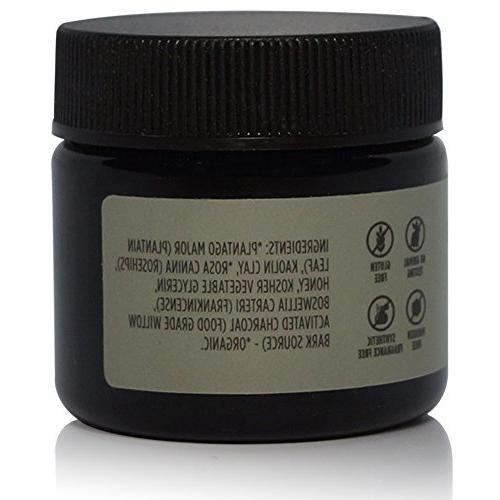 Natural Face Gift Set, Fragrance Cleanse Mask, Scrub Cleanser Lightweight Face Serum Oil, Antioxidant Moisturizer. Size Vegan