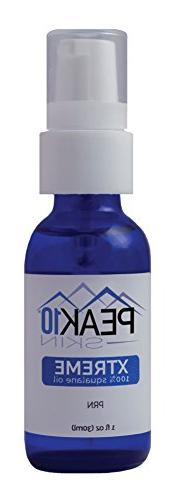 PEAK 10 SKIN - Xtreme 100% squalane oil 1oz