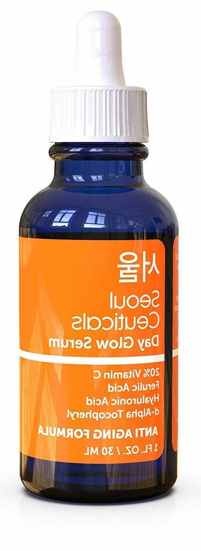 Seoul Ceuticals Korean Skin Care - 20% Vitamin C Hyaluronic