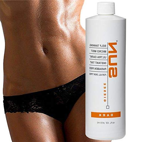 Spray Tanning for Airbrush Sunless Body and Face Golden - Very Fake Tanning
