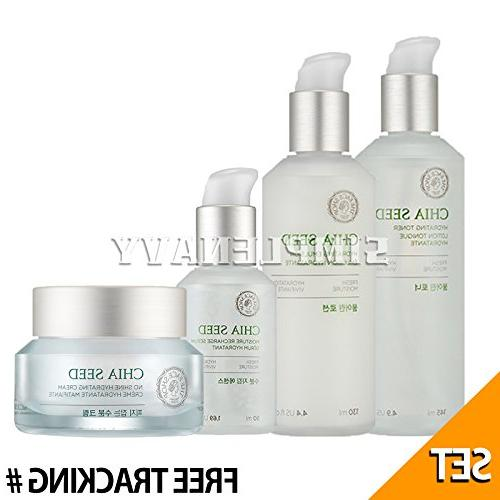 THE FACE SHOP Chia Seed Hydrating Toner 145ml+Lotion 130ml+S