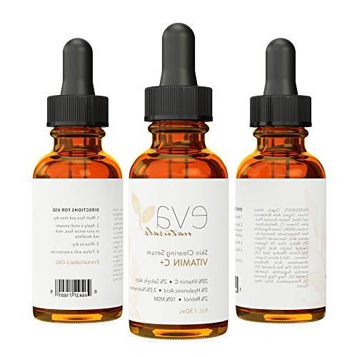 Vitamin 2% Retinol, 3.5% Niacinamide, 5% Salicylic 20% Vitamin C - Anti-Aging Skin Face