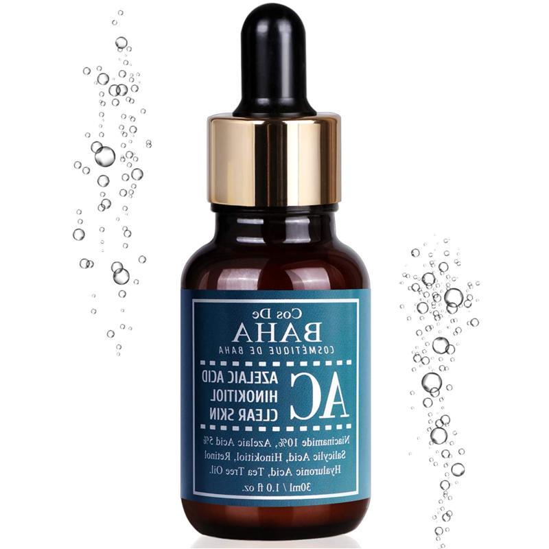 acne treatment serum with azelaic acid 5