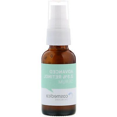 Cosmedica Skincare Advanced 2 5 Retinol oz 30 ml