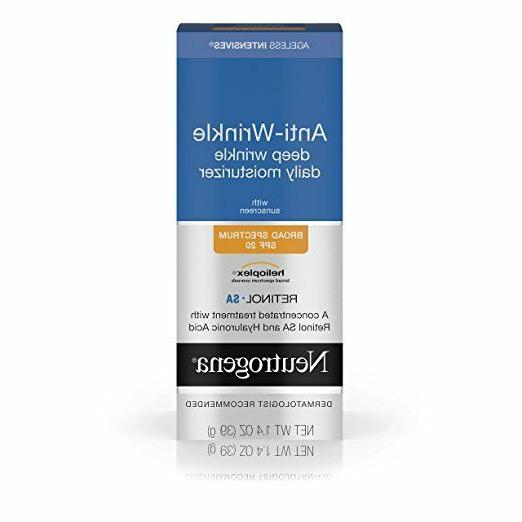 Neutrogena Intensives Wrinkle Moisture, SPF 1.4oz