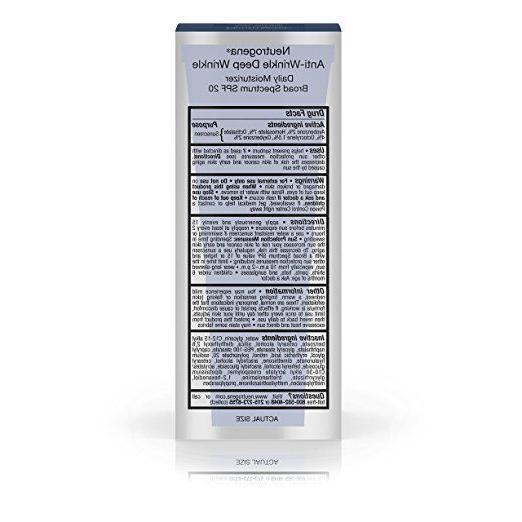 Neutrogena Wrinkle Moisture, SPF 20, 1.4oz