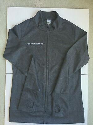 alo yoga gray jacket size s m