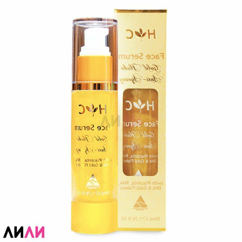 anti ageing gold flake face serum 50ml