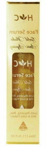 Healthy Care Anti Ageing Gold Flake Face Serum 50ml reduces