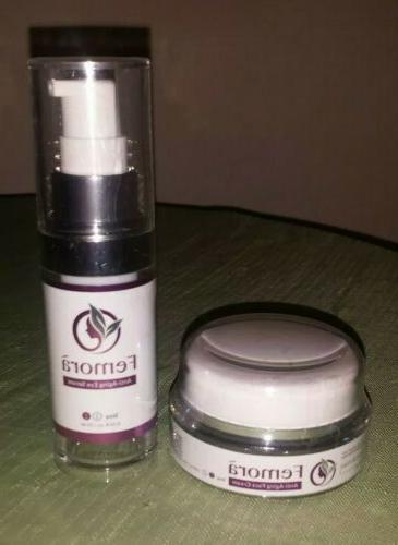 anti aging face cream and eye serum