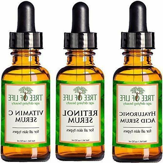 anti aging serum 3 pack face serum