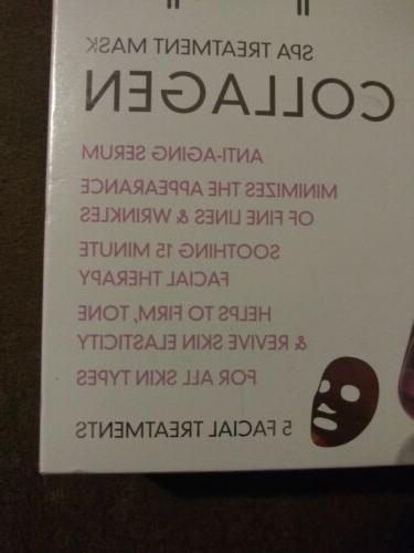 Treatment Mask COLLAGEN Facial Treatments NIB