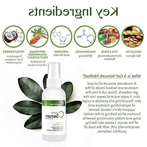 Vitamin Serum Corrector with Hyaluronic Niacinamide Wrinkle Brightening -